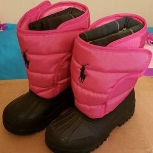 RL Polo Snow/Rain Boots
